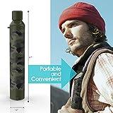 SimPure Water Filter Straw, Portable Survival
