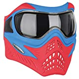 v force profile - V-FORCE Grill Paintball Mask / Goggle - SE - Blue on Red