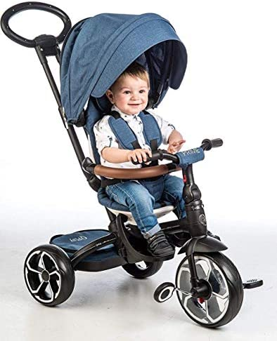 Ociotrends QPLAY Tricycle Prime - Bleu
