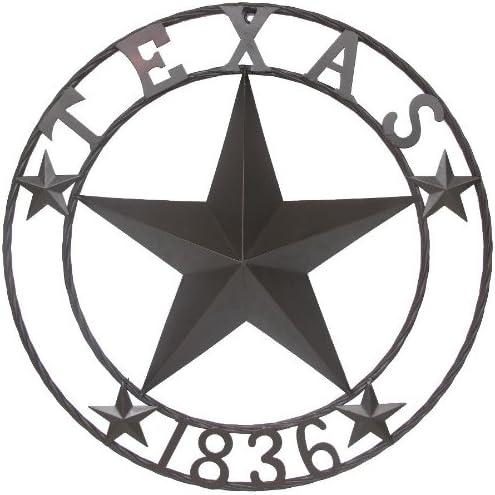 LL Home Texas 1836 Metal Star