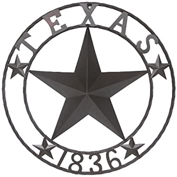 Amazon Ll Home Texas 1836 Metal Star Kitchen
