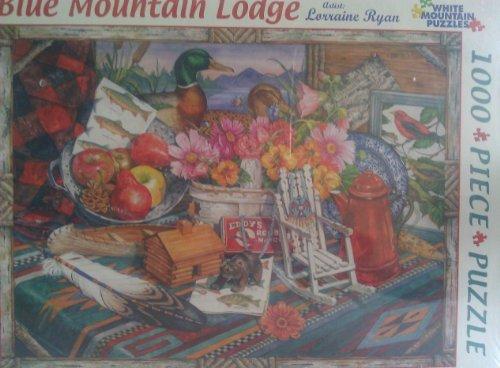 (Blue Mountain Lodge 1000 Piece Puzzle )