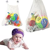 Euone  Bath Toy Net, Fashion Baby Bath Bathtub Toy Mesh Net Storage Bag Organizer Holder Bathroom