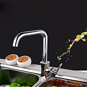 LOSTRYY Hot and cold sink faucets Rotary sink faucet good