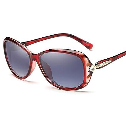 74eb2f74f6 YJ Gafas de sol Gafas de sol: polarizadas, resistentes a los rayos UV,  montura pequeña y ...