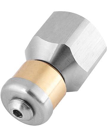 Akozon Boquilla de limpieza giratoria 3/8 BSP Boquilla de limpieza a presión