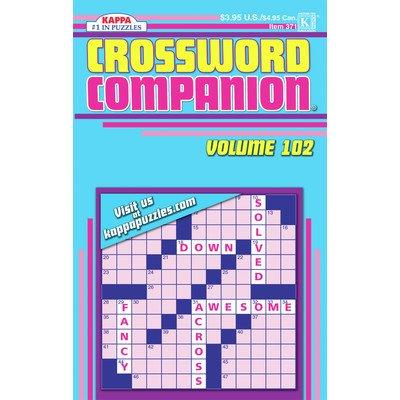 Crossword Companion Puzzle Book [Set of 3]