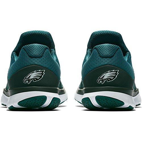 Nike Mens Philadelphia Eagles Gratis Tränare V7 Nfl Samling Skor - Storlek 10 M Oss