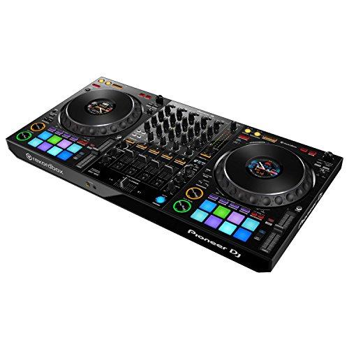 Pioneer DJ DDJ-1000 REKORDBOX DJ Pro Controller w/Studio Monitors and Cleaning