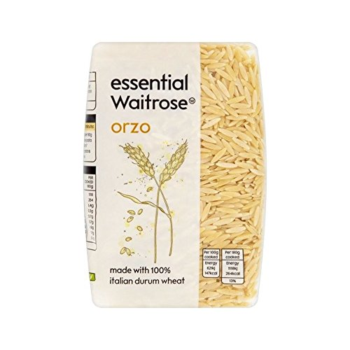 Orzo essential Waitrose 500g - Pack of 6