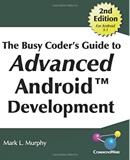 The Busy Coder S Guide To Android Development Mark L Murphy