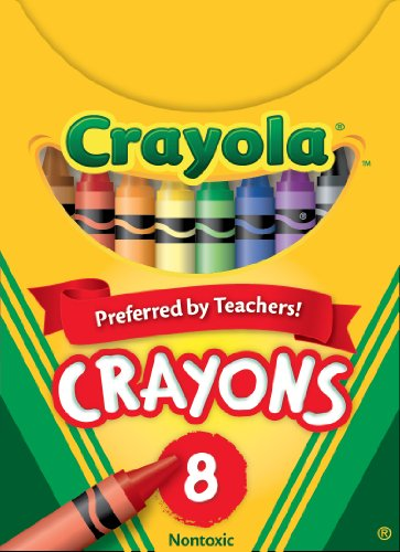 Crayola Crayons 8 Count Standard Size