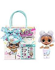 LOL Surprise Present Surprise Series 3 blandade – 8 överraskningar, kläder och accessoarer, födelsedagstema – inkluderar mode, skor och mer – samlarobjekt