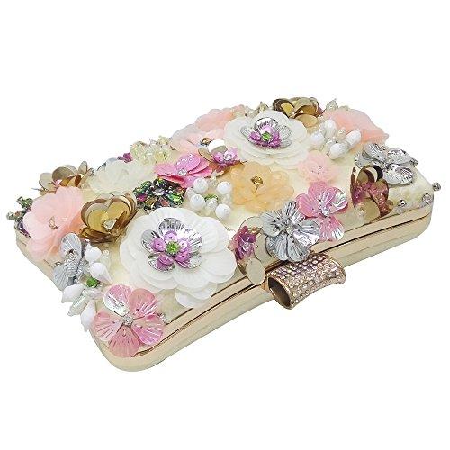 Soirée Perlée De Pochette Fleur WenL 8tZqw