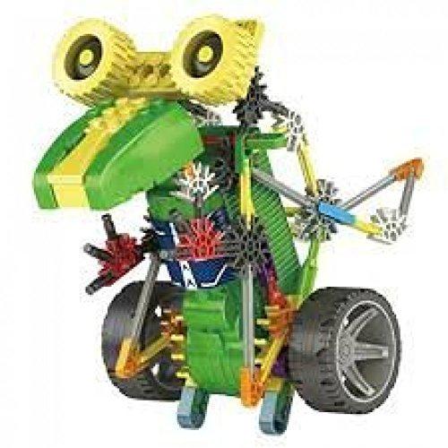 Dinosaurs Tyrannosaurus Toy 105pcs Set, Battery Operated, Build a 3-D Design Figure 3017 (T-rex Robot)