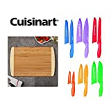 Cuisinart C55-01-12PCKS Advantage Colorful 12-Piece Knife Set with Free Bamboo Cutting Board