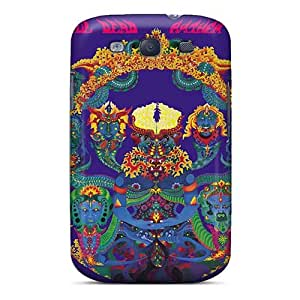 Scratch Resistant Hard Cell-phone Cases For Samsung Galaxy S3 (bbE2738cUFn) Customized Colorful Grateful Dead Image