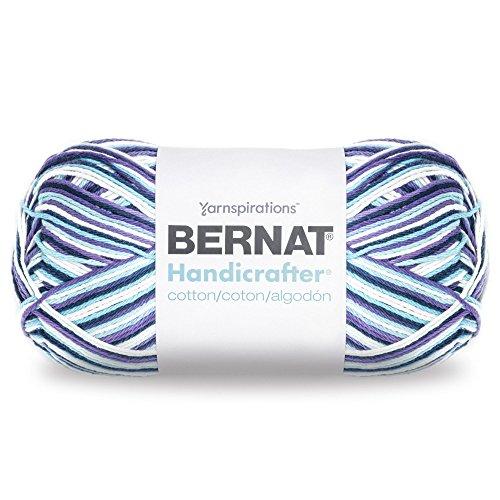 Bernat Handicrafter Cotton Yarn, Gauge 4 Medium Worsted, Moondance