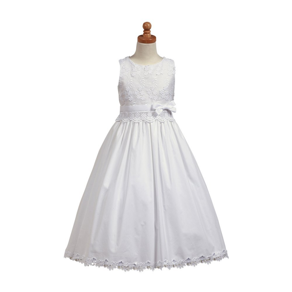Donella Cotton First Communion Bodice with Skirt