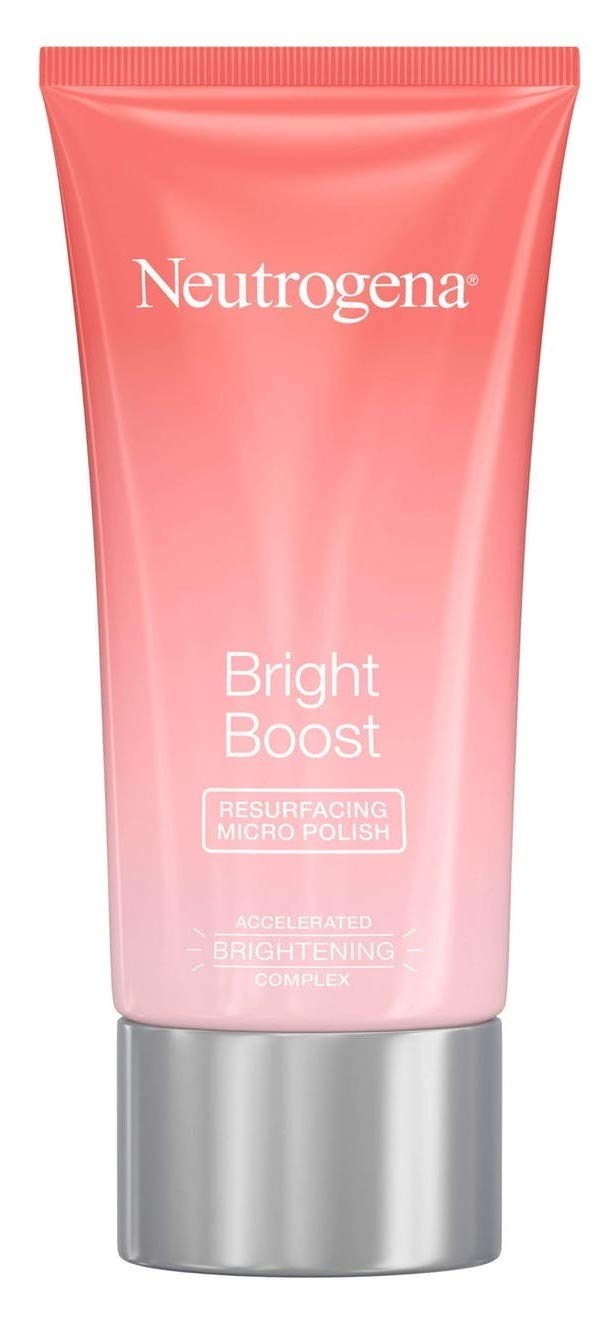 Neutrogena Bright Boost Face Micro Polish 2.6 Ounce (75ml) (Pack of 2)
