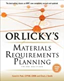 img - for Carol Ptak,Chad Smith'sOrlicky's Material Requirements Planning 3/E [Hardcover]2011 book / textbook / text book