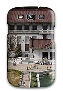 Premium Tpu Japanese Architecture Cover Skin For Galaxy S3