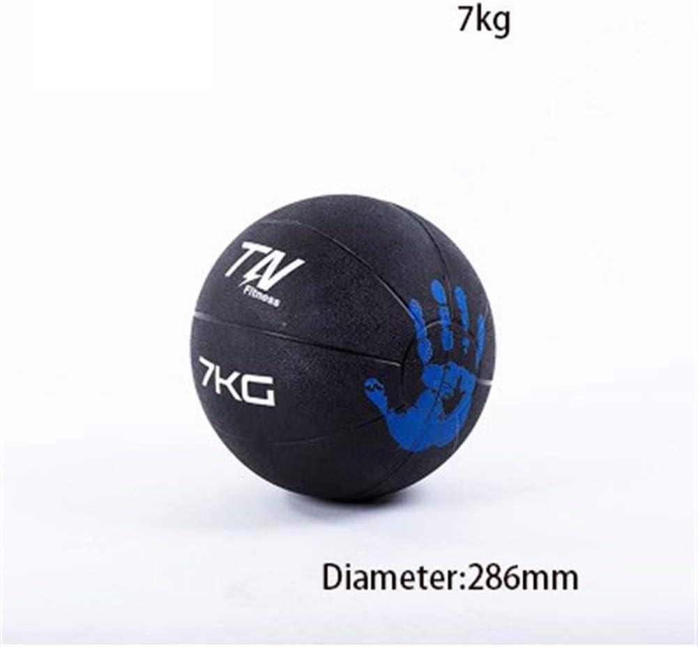7kg GLQ Gummi Stretch Fitness Ball 1-10 kg Gravity Ball Personal Training Studio Equipment Gummi Medizinball Medizinball Set Medizinbälle