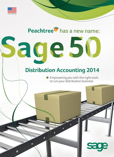 Sage 50 Distribution Accounting for 2014 - 1 User Retail Box