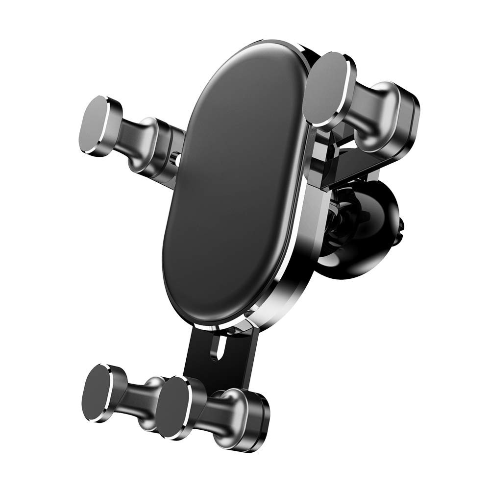 EtryBest Air Vent /& Dashboard Dual Purpose Car Mount Smart Auto Lock Sensing Gravity Linkage for iPhone Xs Max R 8 Plus 7 6s SE Samsung Galaxy S9 S8 Edge S7 S6 Note 9 Smartphones Car Phone Holder