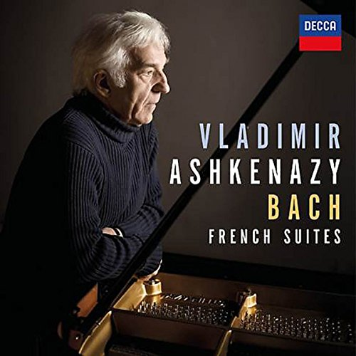 CD : Vladimir Ashkenazy - French Suites Bwv 812-817 (CD)