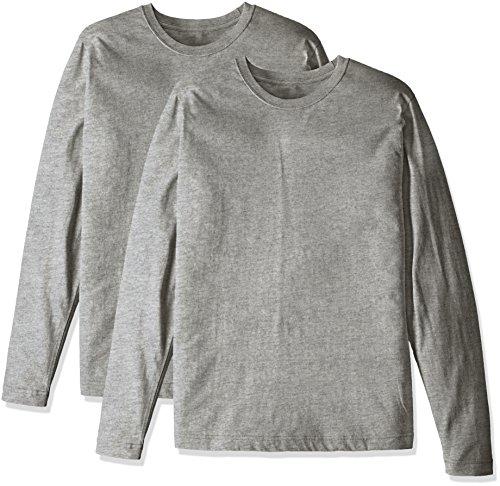 不調和ゴネリル切り下げ[セシール] アンダーシャツ 綿100% 長袖Tシャツ(2枚組セット) M~5L OTH-297 メンズ
