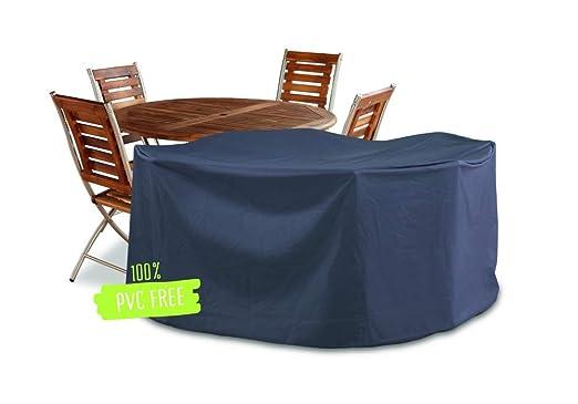 Vida GmbH Funda Protectora para Muebles de jardín Deluxe, Mesa ...
