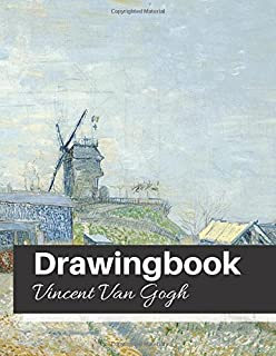 drawingbook vincent van gogh drawingbookdrawing book for adultsall blank sketchbookvan gogh notebook volume 30