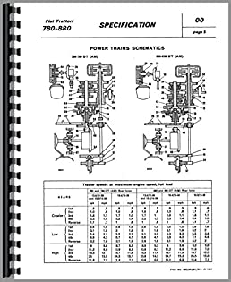 amazon com fiat 780 tractor service manual 0739718042384 fiat books rh amazon com fiat 640 tractor workshop manual pdf New Tractor Power Steering Gearbox