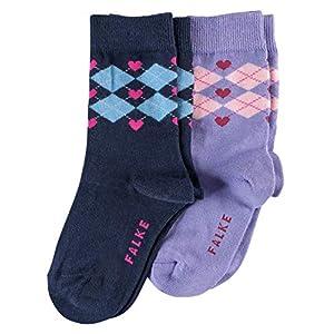 FALKE Girl's Calf Socks, (Pack of 2)