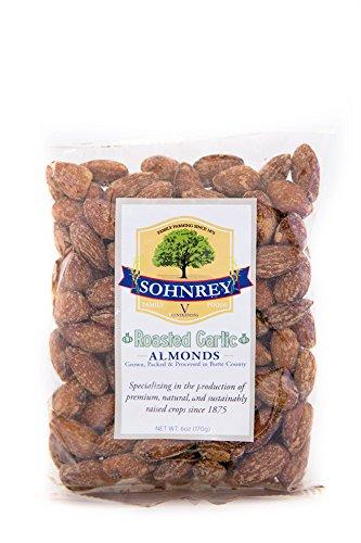Sohnrey Family Foods Roasted Garlic Almonds (6oz)