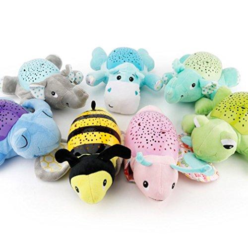 Plush Musical Toys, Animal Shapes Music Sound Baby Sleeping Toys,Kids Gift (C)