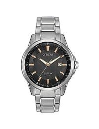 Citizen Men's Quartz Titanium Casual Watch (Model: AW1490-50E)