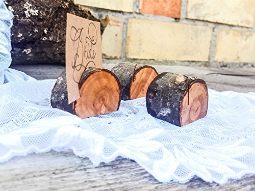 Set of 100 deciduous tree branch place card holders, name card holders, rustic card holder, shabby chic, natural card holder, 50 card holders, Scandinavian card holders, wooden card holders by Forest Lion