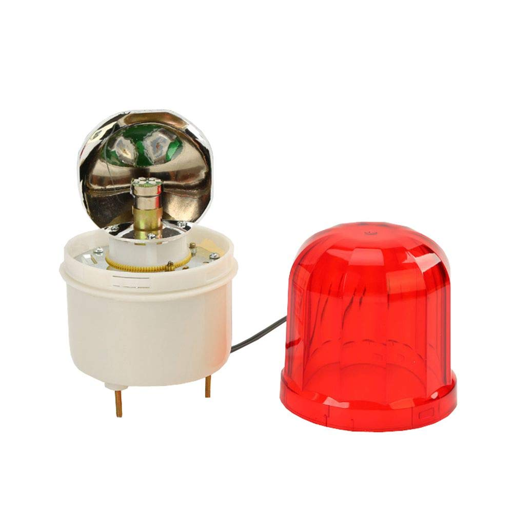 AC 220V LUBAN Rotating Warning Light LED Beacon Flashing Light Industrial Strobe