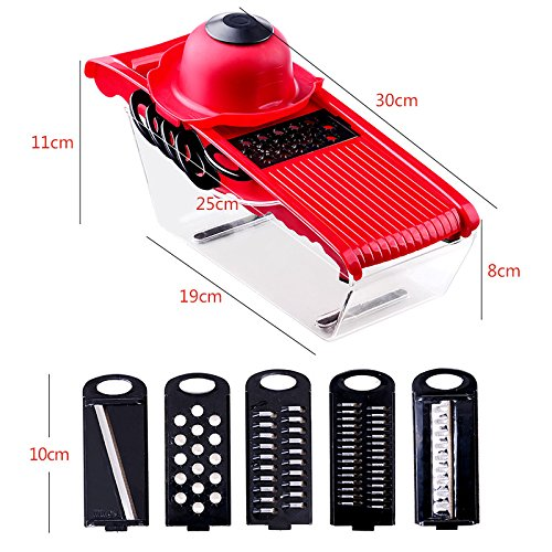 Kitchen Gadgets Multifunctional Cutter Grater Artifact for Home Restaurant