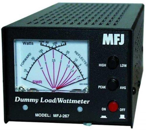 MFJ-267 Dummy load, SWR meter, 1.5kW, 0-650MHz