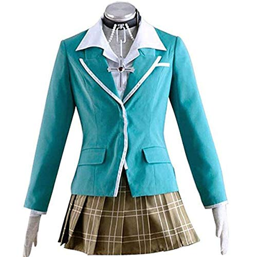 Poetic Walk Rosario + Vampire Moka Akashiya Uniform Cosplay Halloween Costume Outfit (XX-Large, Womens Set) -
