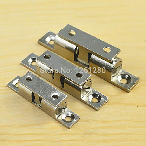 10 pieces M brass cabinet Catches metal furniture Hardware door catches and door closer kitchen Cabinets hardware