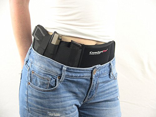 ComfortTac Ultimate Belly Band Holster for Concealed Carry,...