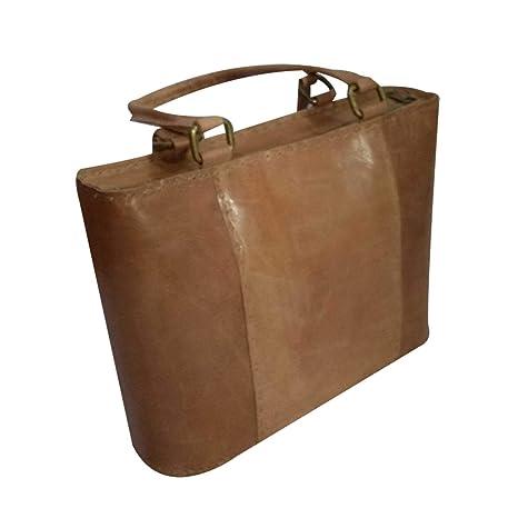 reunirse 9d566 09da9 Bolsos clásico de piel auténtica hechos a mano para mujer ...