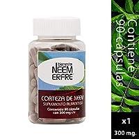 90 Cápsulas de corteza de Neem