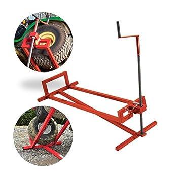 ProBache-Elevador de gato-Tractor cortacésped 250 kg, color rojo ...