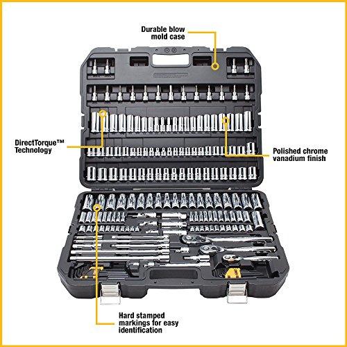 اسعار DEWALT DWMT75049 Mechanics Tools Set (192 Piece)