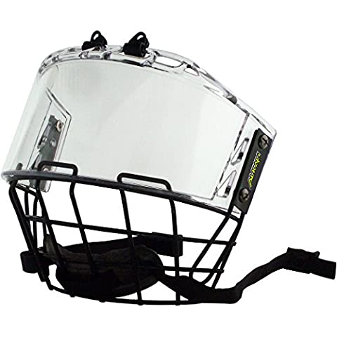 Alkali Quantum Hockey Helmet Cage & Shield Combo (Senior) - Cage Shield